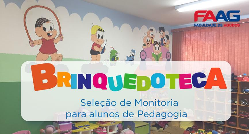 Monitoria Brinquedoteca FAAG