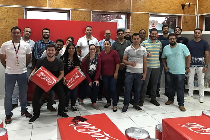 Fábrica da Coca-Cola vira laboratório para alunos da pós FAAG