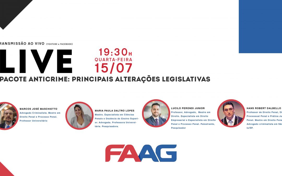 Pacote Anticrime: Principais alterações legislativas