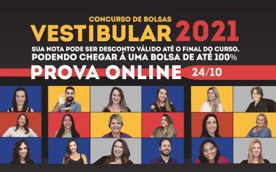 FAAG fará Concurso de Bolsas com prova on-line dia 24 de outubro