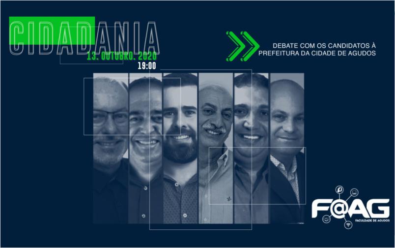 Debate Candidatos Prefeitura Agudos
