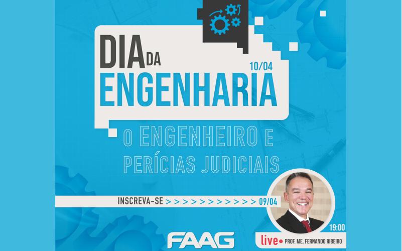 Live: O Engenheiro e Perícias Judiciais