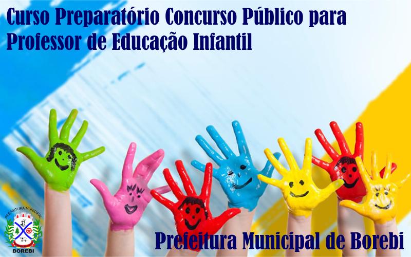 FAAG realiza curso preparatório para Concurso Público da Prefeitura de Borebi para Professor de Educação Infantil